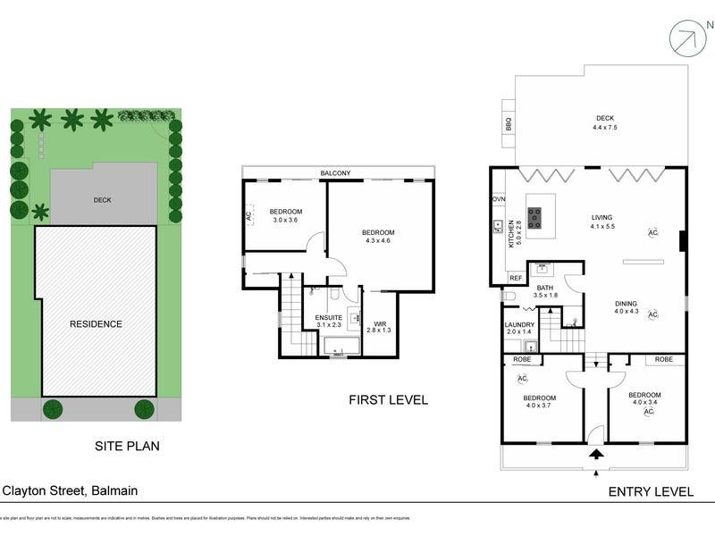 4 Clayton Street, Balmain, NSW 2041 - floorplan