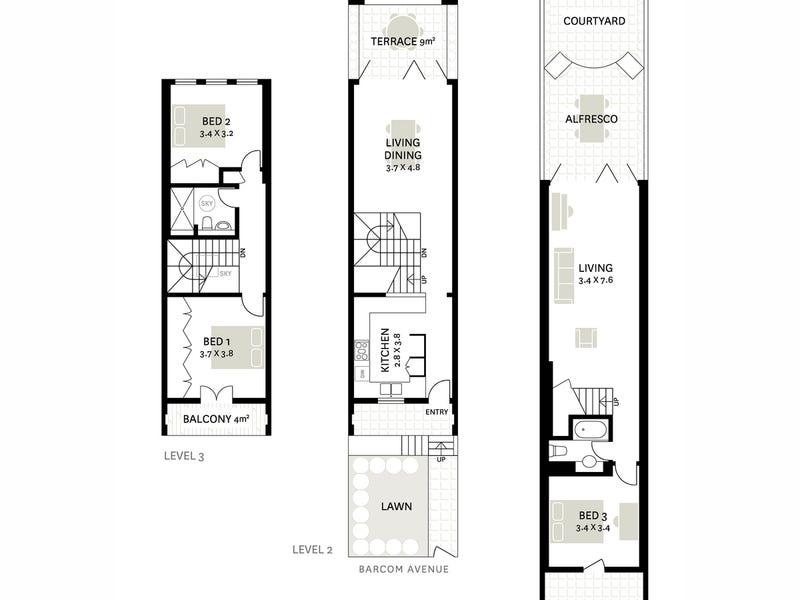 190 Barcom Avenue, Darlinghurst, NSW 2010 - floorplan