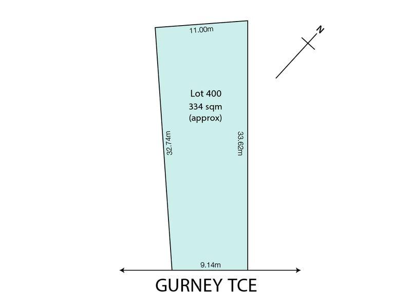 Lot 400/ 17 Gurney Terrace, Enfield, SA 5085