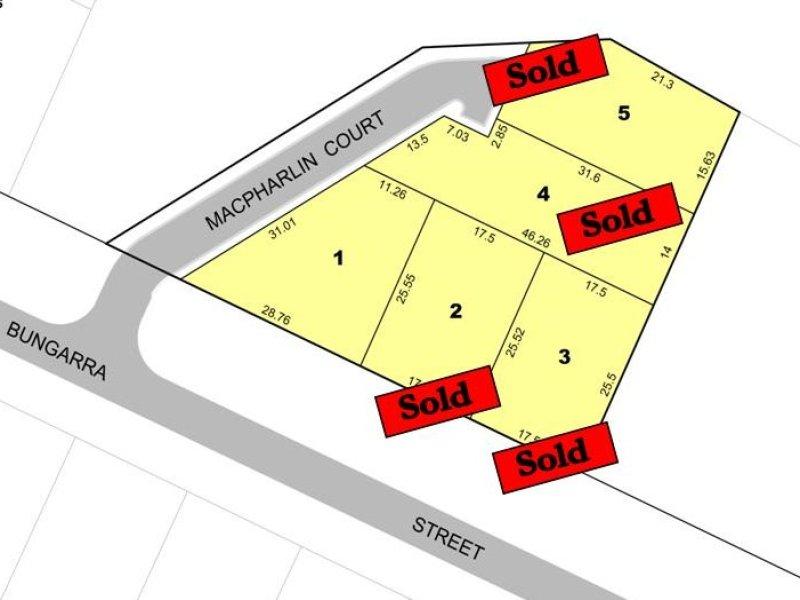 Bungarra Estate 1-5 Bungarra Street, 1 MacPharlin Court, Hillbank, SA 5112