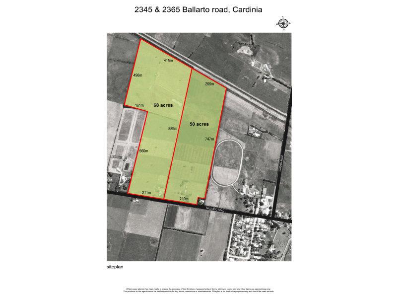 2365 BALLARTO ROAD, Cardinia, Vic 3978