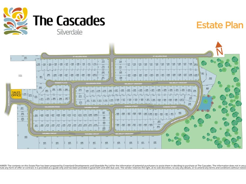 The Cascades Estate, Silverdale