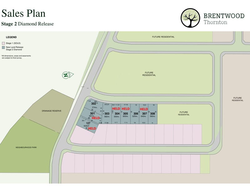 Lot 308, Brentwood, Hillgate Drive, Thornton, NSW 2322