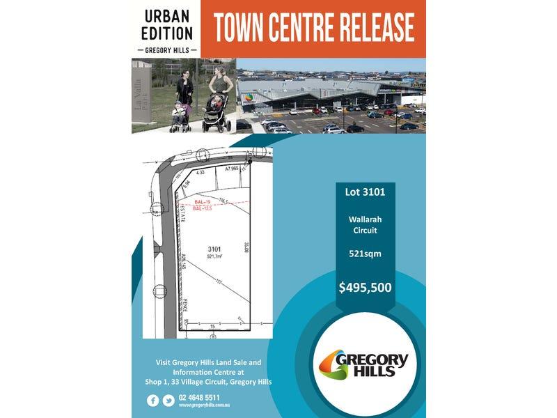 Lot 3101, Wallarah Street, Gregory Hills, NSW 2557