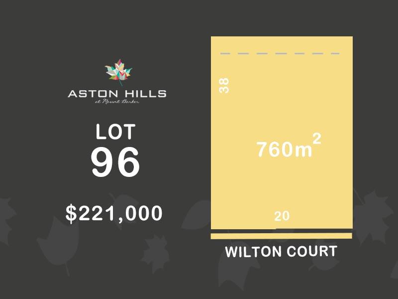 Lot 96, Wilton Court (Aston Hills), Mount Barker, SA 5251