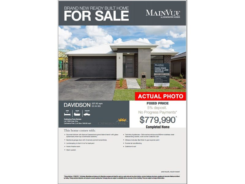 Lot/1058 Myer Crescent, Oran Park