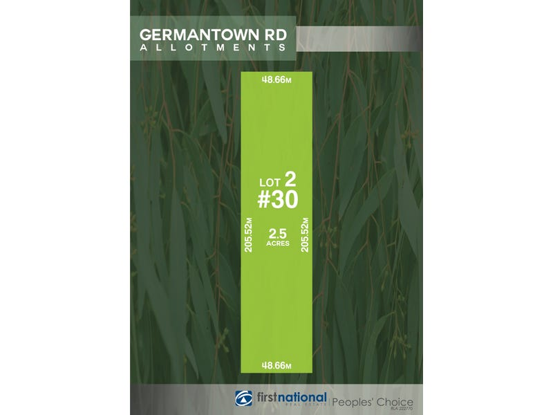 Lot 2, 30 Germantown Road, Lewiston, SA 5501