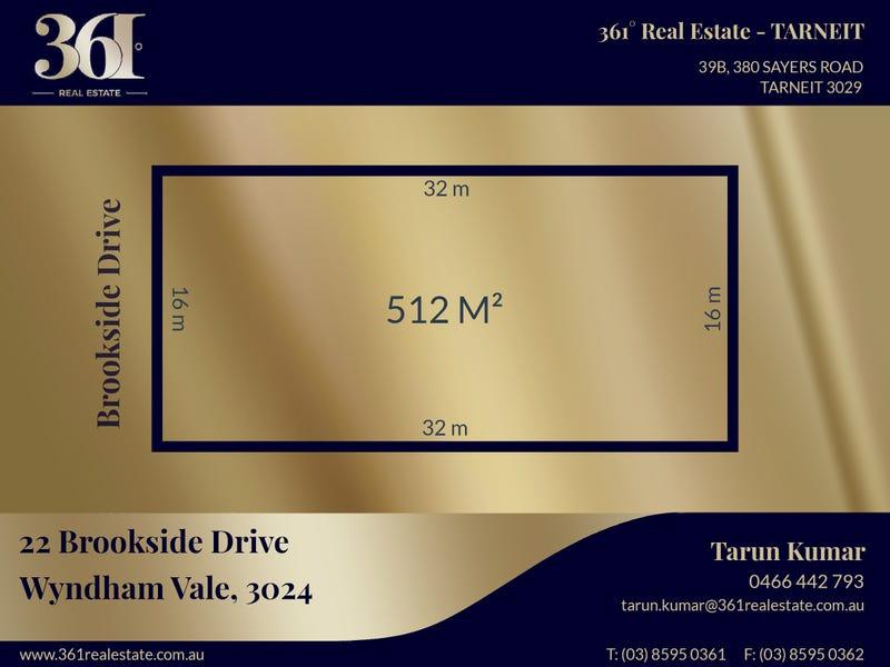 22 Brookside Drive, Wyndham Vale, Vic 3024