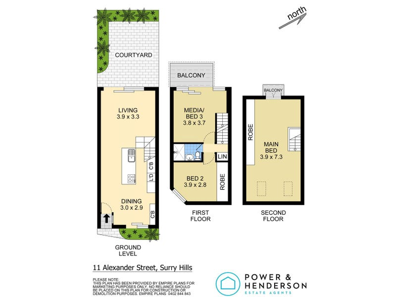 11 Alexander Street, Surry Hills, NSW 2010 - floorplan