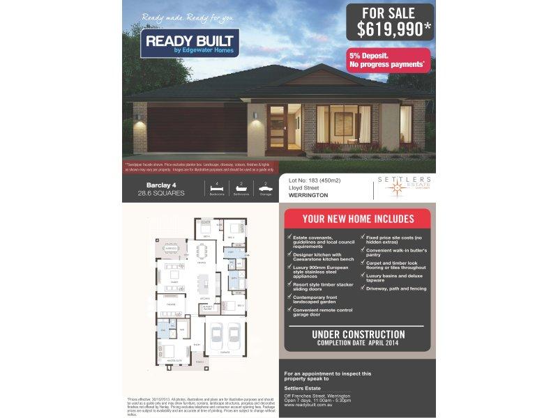 Lot 183 Lloyd Street, Werrington, NSW 2747