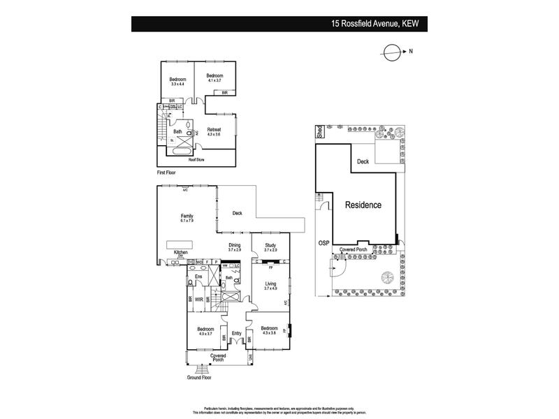 15 Rossfield Avenue, Kew, Vic 3101 - floorplan