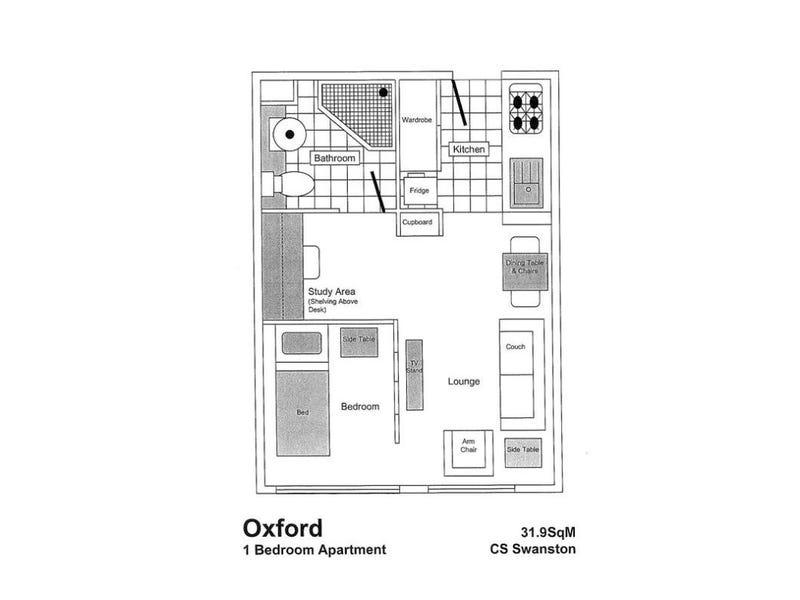 522/800 Swanston Street, Carlton, Vic 3053 - floorplan