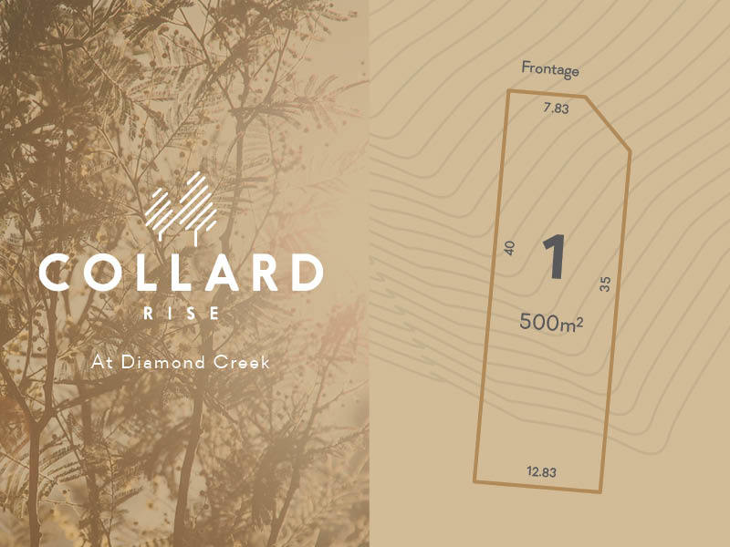 Lot 1, 60-122 Collard Drive, Diamond Creek, Vic 3089