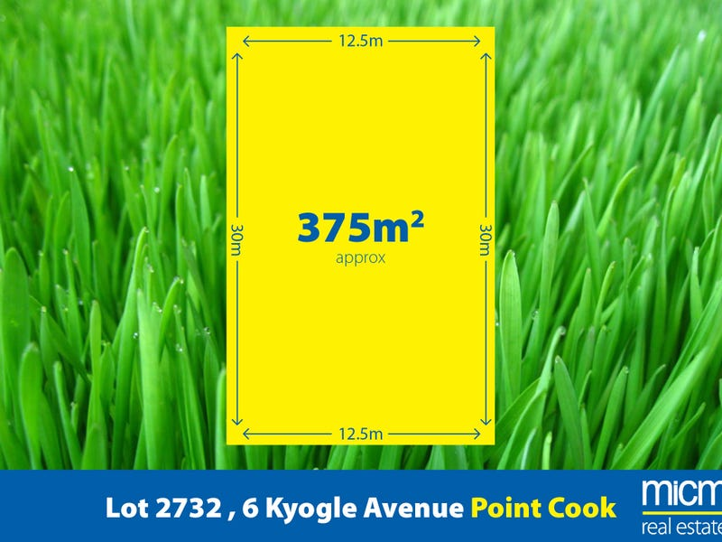 Lot 2732, 6 Kyogle Avenue, Point Cook, Vic 3030