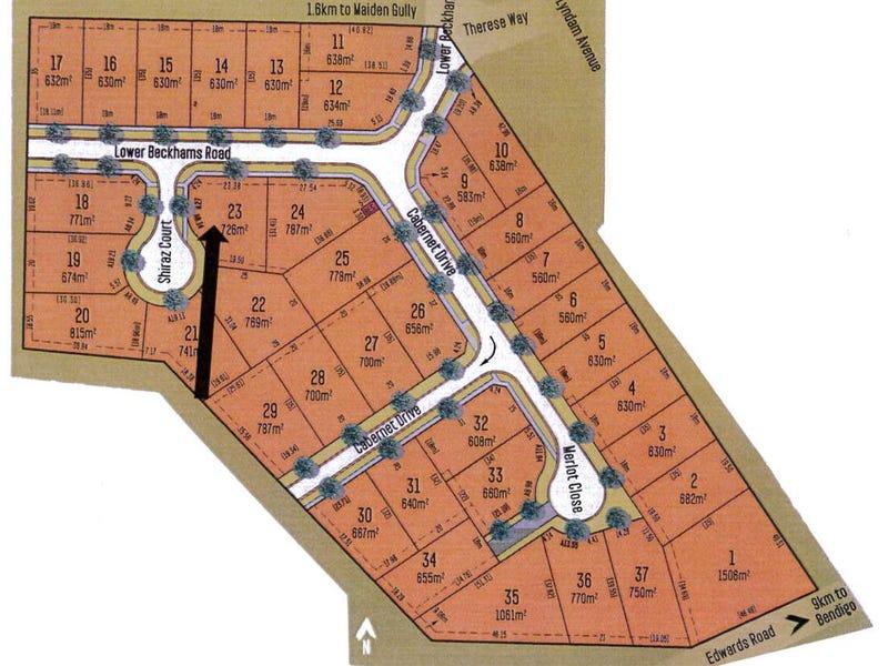 1 Shiraz Court (Lot 23 Meadows Gate Estate), Maiden Gully, Vic 3551