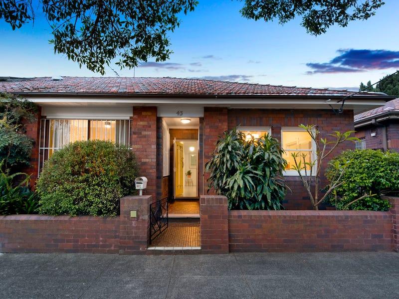 43 Woodcourt Street, Marrickville, NSW 2204