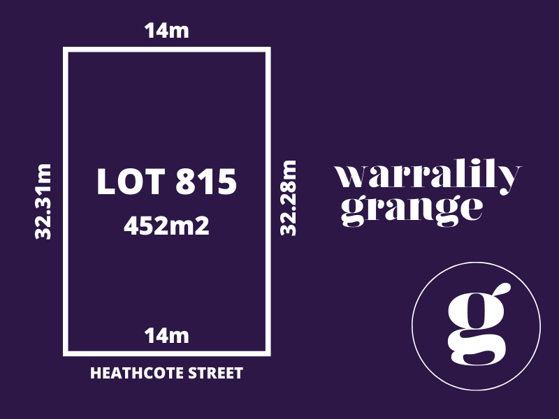 Lot 815, Heathcote Street, Armstrong Creek, Vic 3217