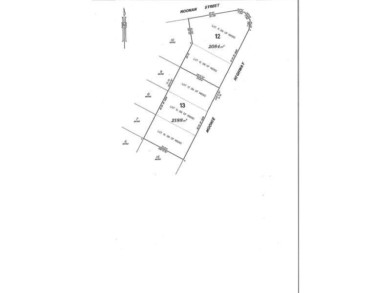 lot 12 & 13 MOONIE HIGHWAY, Moonie, Qld 4406