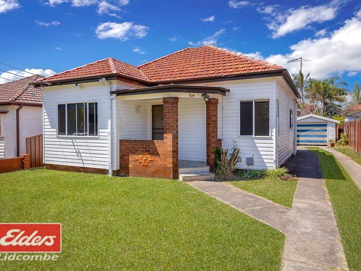 54 BOMBAY STREET, Lidcombe, NSW 2141