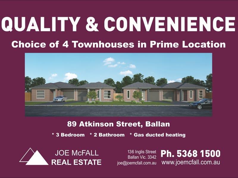 1-4/89 Atkinson St, Ballan, Vic 3342