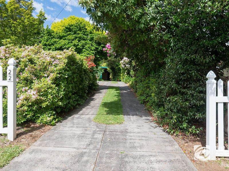 22 Hethersett Road, Sassafras, Vic 3787