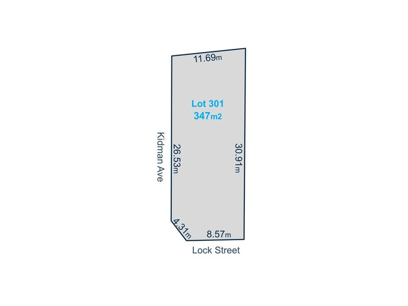 Lot 301 Lock St, Kidman Park, SA 5025