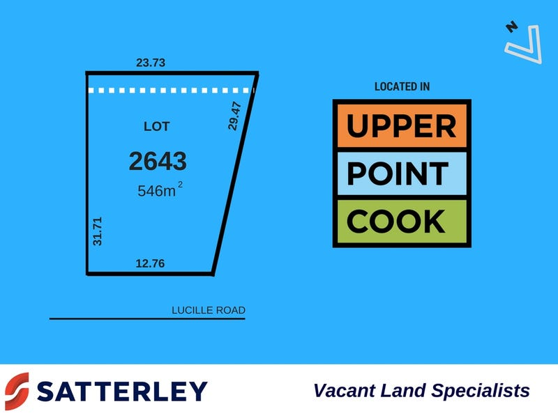 Lot 2643, Lucille Road, Point Cook, Vic 3030