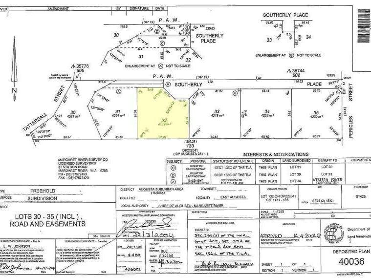 Lot 32 Southerly Place, East Augusta, WA 6290