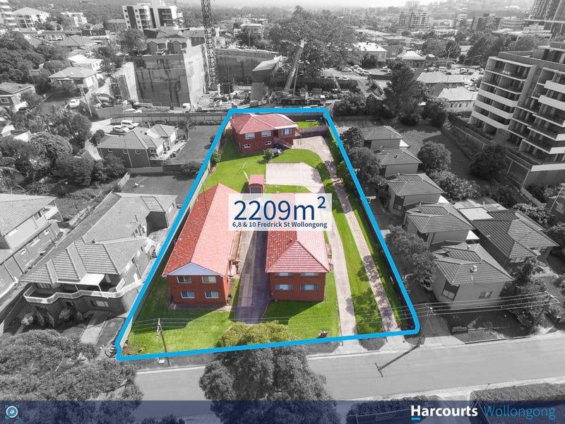 6,8,10 Frederick Street, Wollongong, NSW 2500