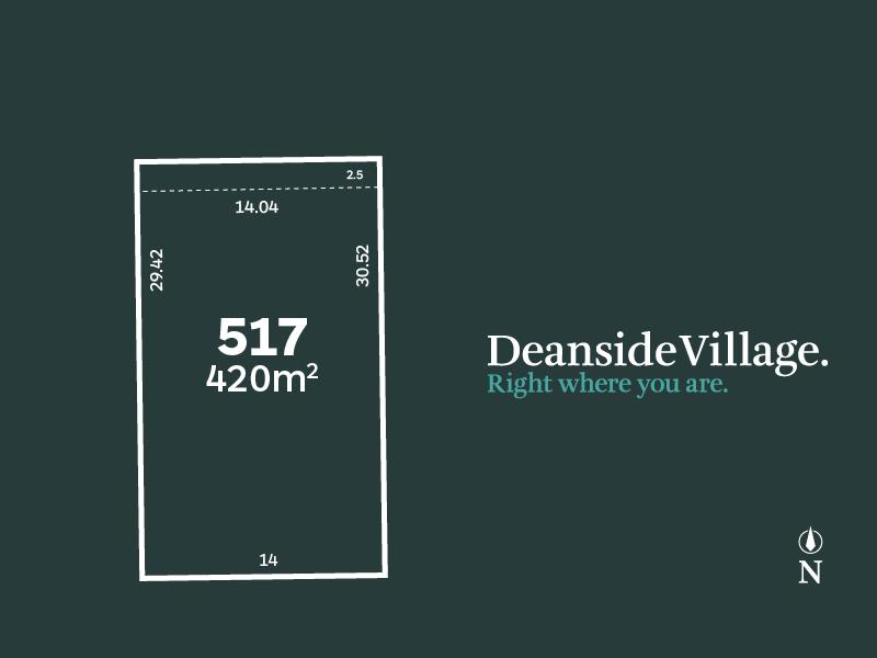 Lot 517, Warangal Way, Deanside, Vic 3336