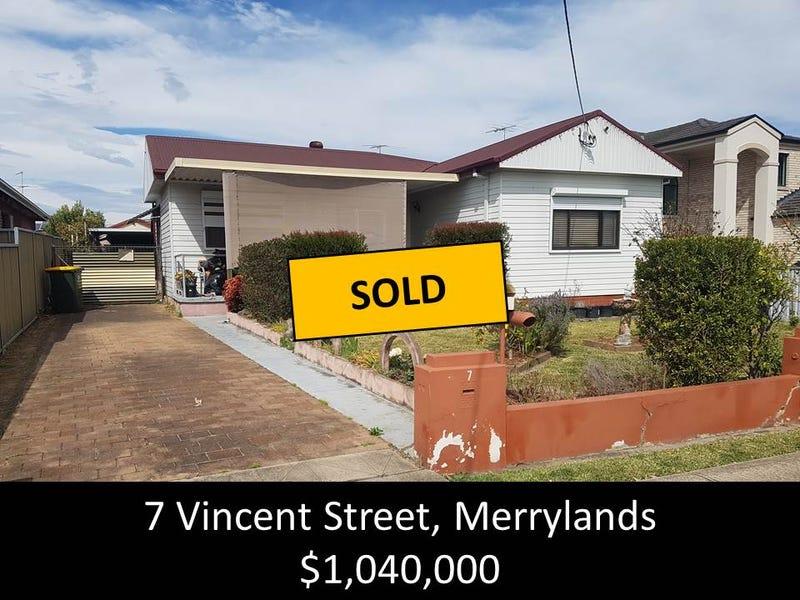 7 Vincent Street, Merrylands, NSW 2160