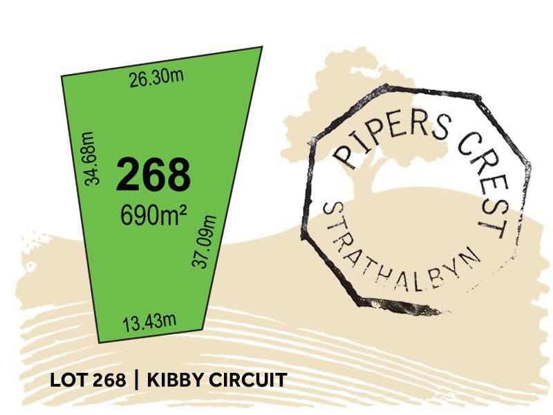 Lot 268, Kibby Circuit, Strathalbyn, SA 5255