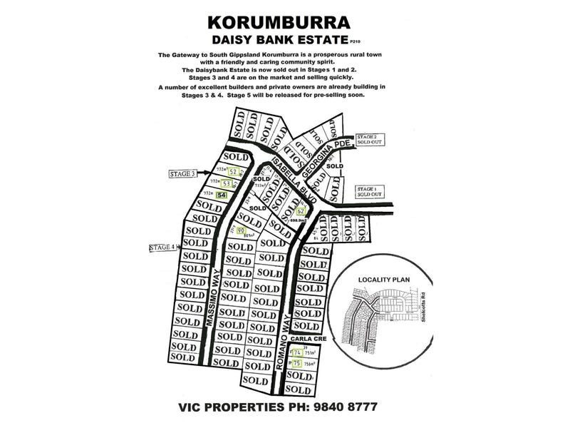 Lot 52, 4 Massimo Way, Korumburra, Vic 3950