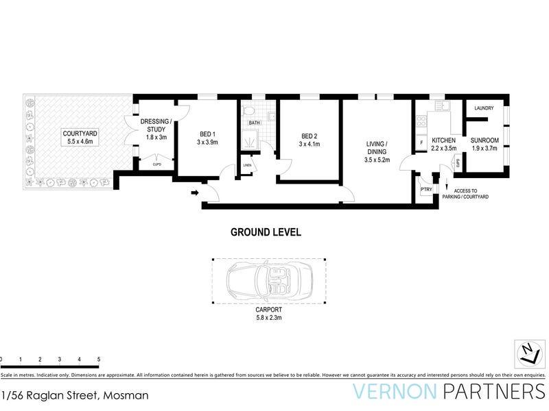 1/56 Raglan Street, Mosman, NSW 2088 - floorplan