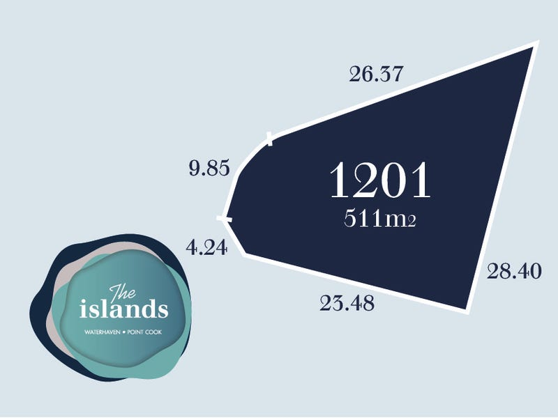 Lot 1201, Waterhaven Boulevard, Point Cook, Vic 3030