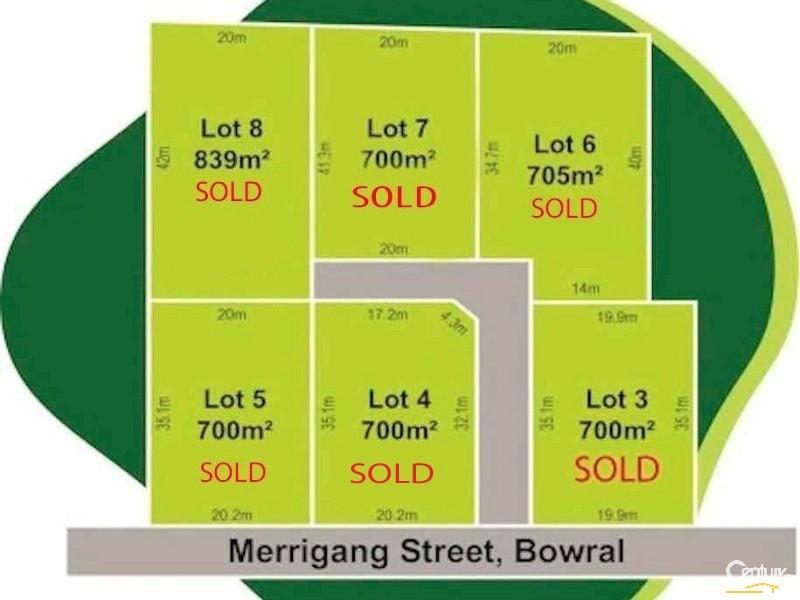 Lot 3-8 Cnr Albert Street & Merrigang Street, Bowral, NSW 2576