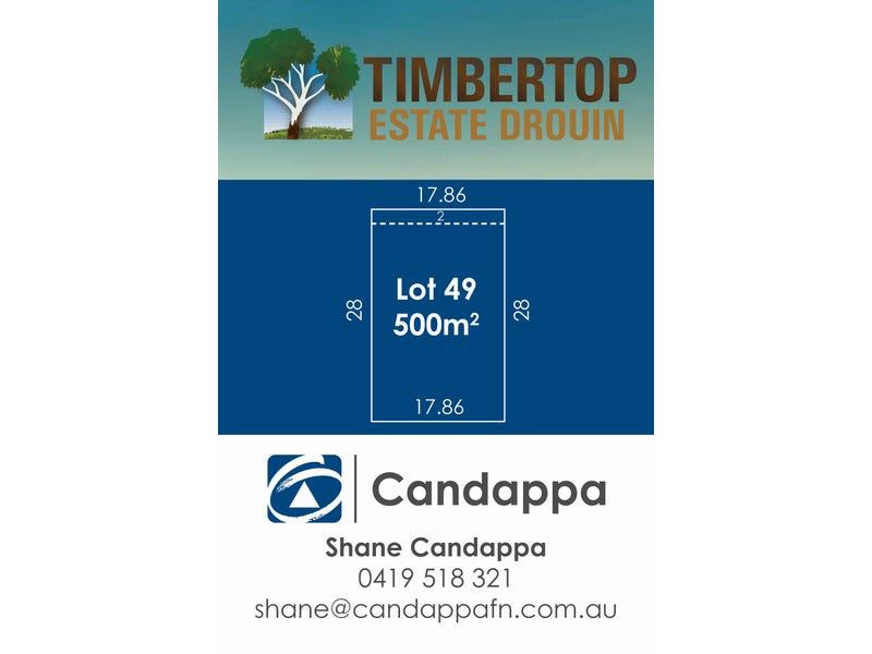 LOT 49 Timbertop Crescent, Drouin, Vic 3818