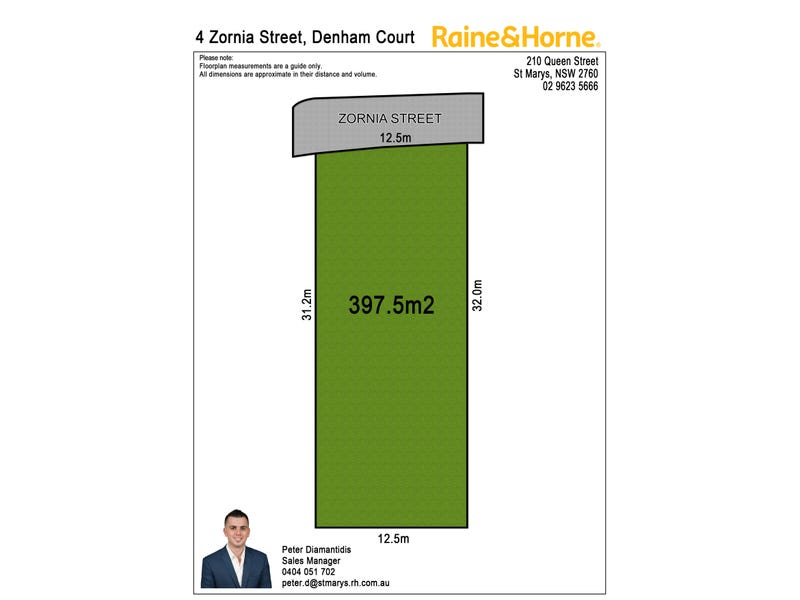 Lot 1767 Zornia Street, Denham Court, NSW 2565