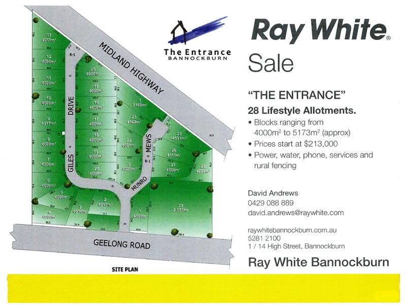 Lot 28 The Entrance, Bannockburn, Vic 3331