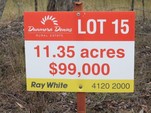 Lot 15 Lomandra Lane, Dunmora, Qld 4650