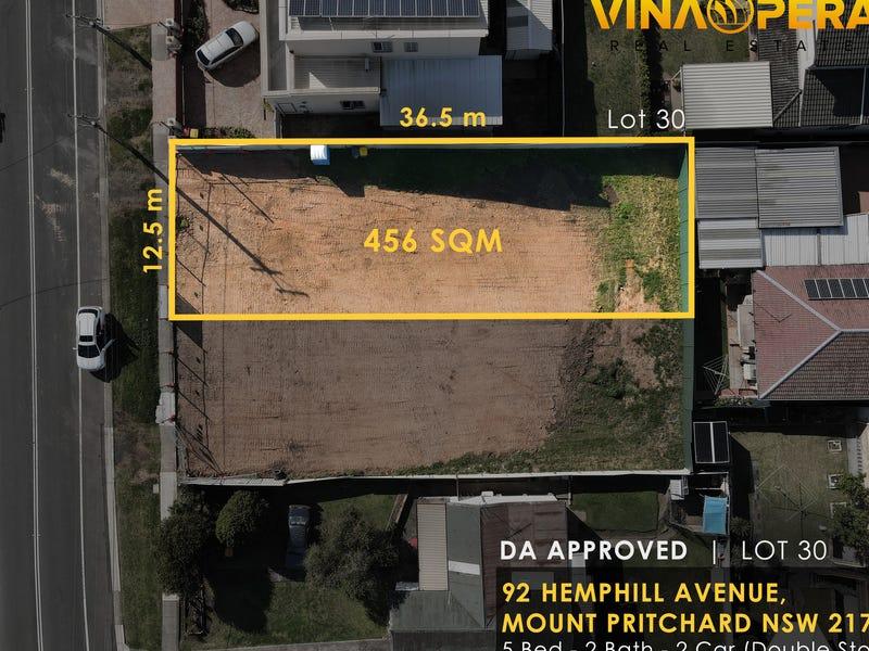 92 Hemphill Avenue, Mount Pritchard, NSW 2170