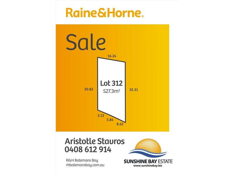 Lot 312 Throsby Crescent, Sunshine Bay, NSW 2536