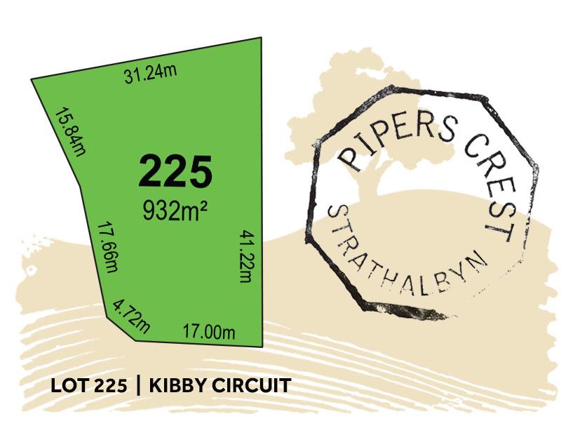 Lot 225, Kibby Circuit, Strathalbyn, SA 5255