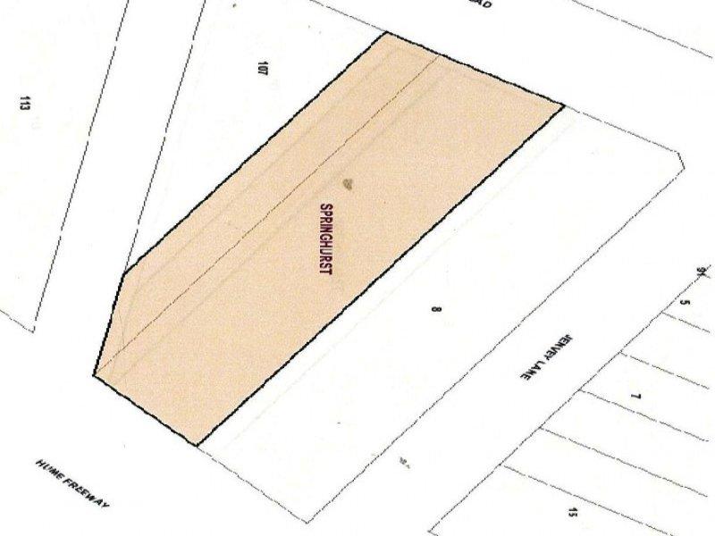 Lot 1, TP 12424P  Canning Road, Springhurst, Vic 3682