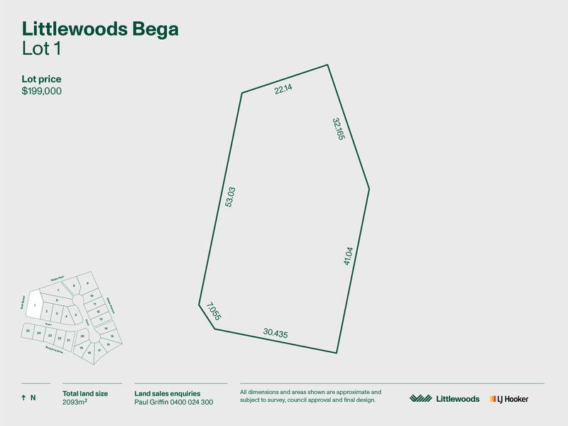 Lot 1 Littlewoods Estate, Bega, NSW 2550