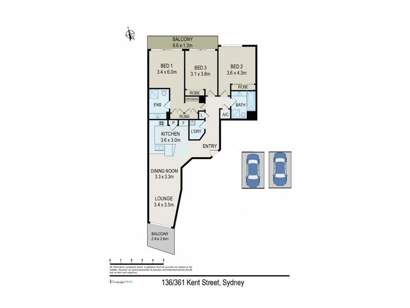 136/361 Kent Street, Sydney, NSW 2000 - floorplan