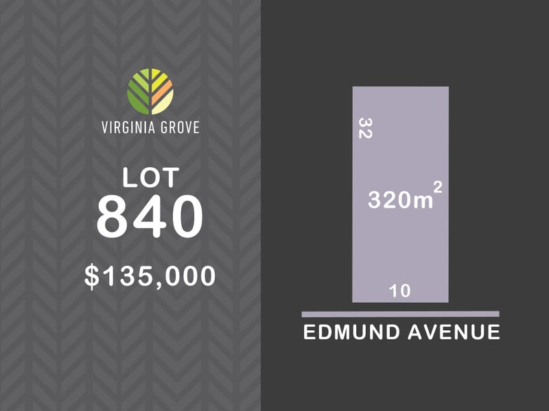 Lot 840, Edmund Avenue (Virginia Grove), Virginia, SA 5120