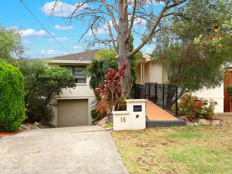 16 Jindabyne Crescent, Peakhurst Heights, NSW 2210