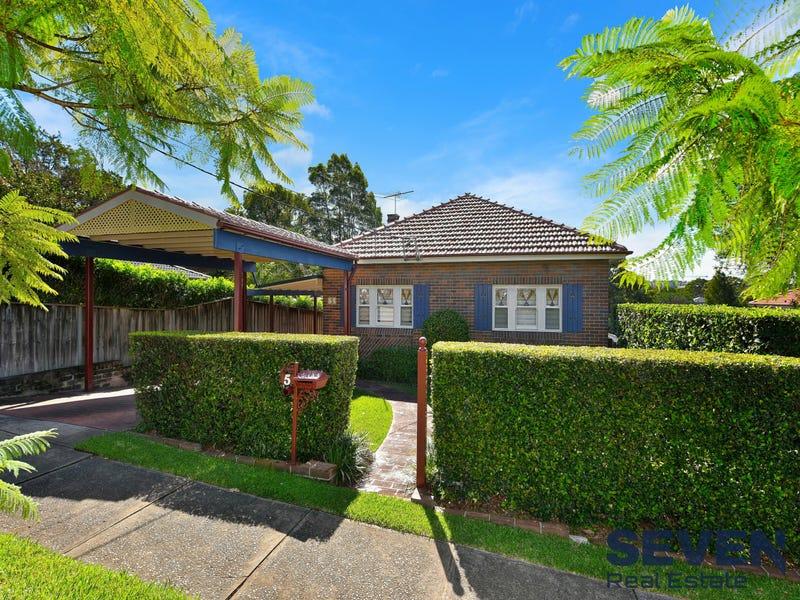 5 Sybil Street, Eastwood, NSW 2122