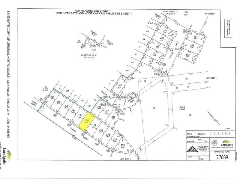 Lot 353 Kawana Avenue, Maddington, WA 6109